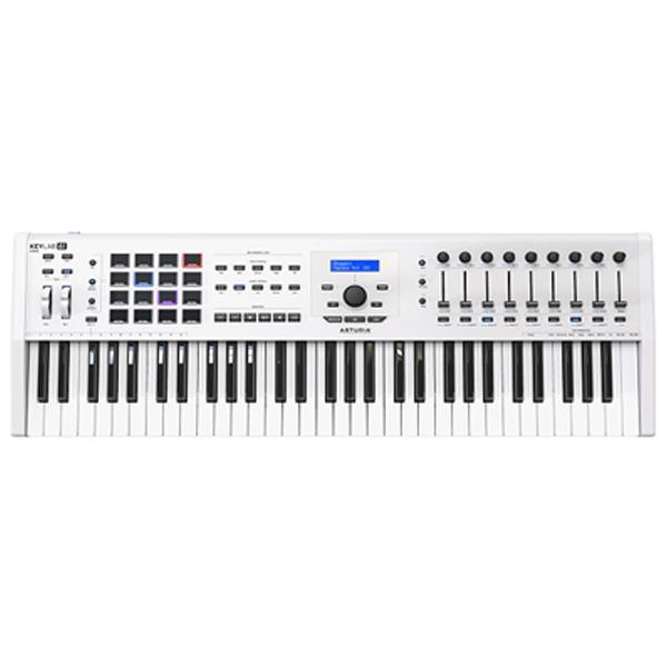 Arturia(アートリア) / KEYLAB 61 MK 2  (White) - MIDIキーボード・コントローラー - 【8月26日発売】