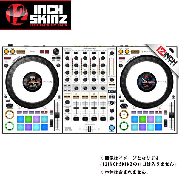 12inch SKINZ / Pioneer DDJ-1000 SKINZ(White/Gray) 【DDJ-1000用スキン】
