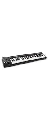 ■ご予約受付■ M-Audio(エム・オーディオ) / Keystation 49 MK3 (49鍵盤) - MIDIキーボード ・ コントローラー - 【Pro Tools First M-Audio Edition、Ableton Live Lite付属】【次回納期未定】 1大特典セット