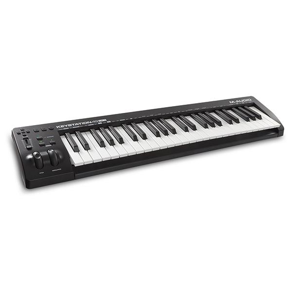 M-Audio(エム・オーディオ) / Keystation 49 MK3 (49鍵盤) MIDIキーボード ・ コントローラー 【Pro Tools First M-Audio Edition、Ableton Live Lite付属】