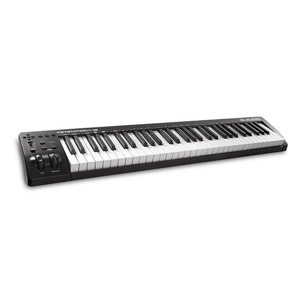 M-Audio(エム・オーディオ) / Keystation 61 MK3 (61鍵盤) MIDIキーボード ・ コントローラー 【Pro Tools First M-Audio Edition、Ableton Live Lite付属】