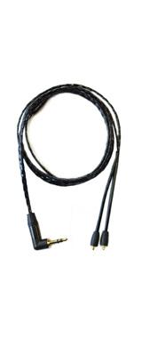 NOBUNAGA LABS(ノブナガ・ラボ) / 黒鬼 (くろおに) 【NLP-KRO】 - 3.5mm ステレオミニプラグ対応MMCXリケーブル -