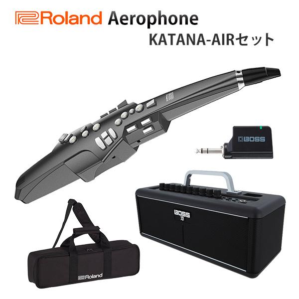 【KATANA-AIRセット】 Roland(ローランド) / Aerophone (AE-10G) ホワイト - エアロフォン / ウィンド・シンセサイザ ー 【3月31日(日)までスタンド付き】