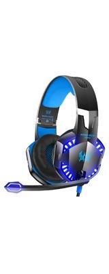 VersionTECH(バージョンテック) / G2000 (Blue) - PC Xbox PS4 スマホ Nintendo Switch 対応 ゲーミングヘッドセット - 1大特典セット