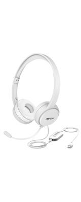 Mpow / 071(white) - 3.5mm USB 軽量 PC ゲーミング ヘッドセット マイクノイズキャンセリング - 1大特典セット