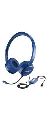 Mpow / 071(blue) - 3.5mm USB 軽量 PC ゲーミング ヘッドセット マイクノイズキャンセリング - 1大特典セット