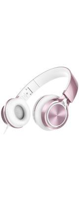 【限定1台】AILIHEN / MS300 (Pink) スマホ PC 折りたたみ式 ステレオ ヘッドホン 【アウトレット / 外箱ダメージあり】 1大特典セット