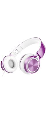 AILIHEN / MS300 (purple) - スマホ PC 折りたたみ式 ステレオ ヘッドホン - 1大特典セット