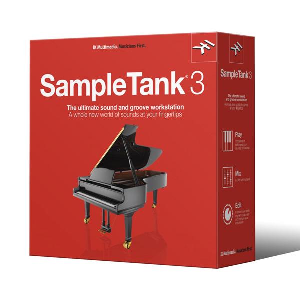 IK Multimedia(アイケーマルチメディア) / SAMPLETANK 3 - ソフト音源 - 1大特典セット