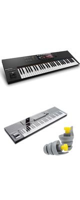 ■ご予約受付■ KOMPLETE KONTROL S61 MK2/ Native Instruments(ネイティブインストゥルメンツ)  - MIDIキーボード61鍵 - 【専用デッキセーバーセット】  2大特典セット