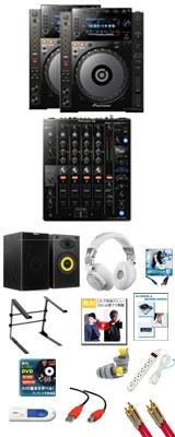 CDJ-900NXS / DJM-750MK2 パーフェクトスタートセット 20大特典セット