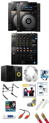 CDJ-900NXS / DJM-900 NXS2 パーフェクトスタートセット 20大特典セット