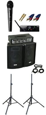 ■ご予約受付■ 【ワイヤレスマイク1本PAセット】 KPA-100 / WMS40 PRO MINI VOCAL SET 《講演 ・イベントに最適》 3大特典セット