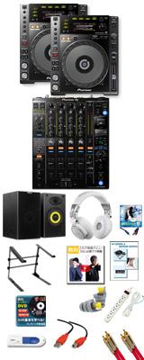 CDJ-850-K / DJM-900NXS2 パーフェクトスタートセット 20大特典セット