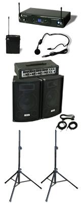 【ワイヤレスヘッドセットPAセット】 KPA-100 / KWS-899P/HM-38 《講演 ・イベントに最適》 1大特典セット