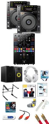 CDJ-850-K /  DJM-S9 パーフェクトスタートセット 20大特典セット