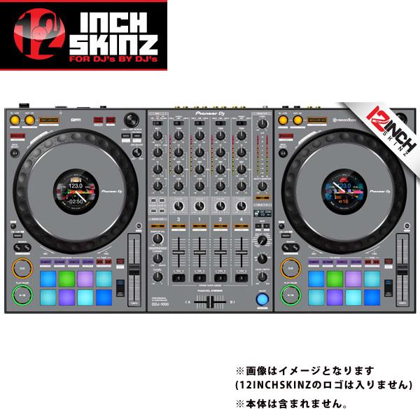 12inch SKINZ / Pioneer DDJ-1000 SKINZ(Gray) 【DDJ-1000用スキン】