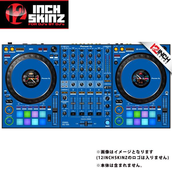 12inch SKINZ / Pioneer DDJ-1000 SKINZ(Blue) 【DDJ-1000用スキン】
