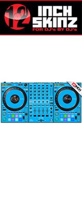 ■ご予約受付■ 12inch SKINZ / Pioneer DDJ-1000 SKINZ(Lite Blue) 【DDJ-1000用スキン】