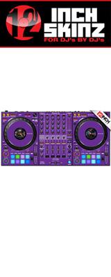 ■ご予約受付■ 12inch SKINZ / Pioneer DDJ-1000 SKINZ(Purple) 【DDJ-1000用スキン】