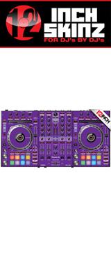 ■ご予約受付■ 12inch SKINZ / Pioneer DDJ-SX3 SKINZ(Purple) 【DDJ-SX3用スキン】