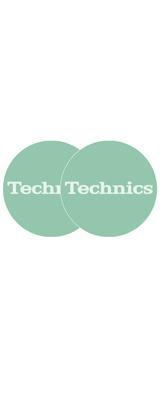 Technics(テクニクス) / Slipmats (Turquoise) - スリップマット (2枚/1ペア) -