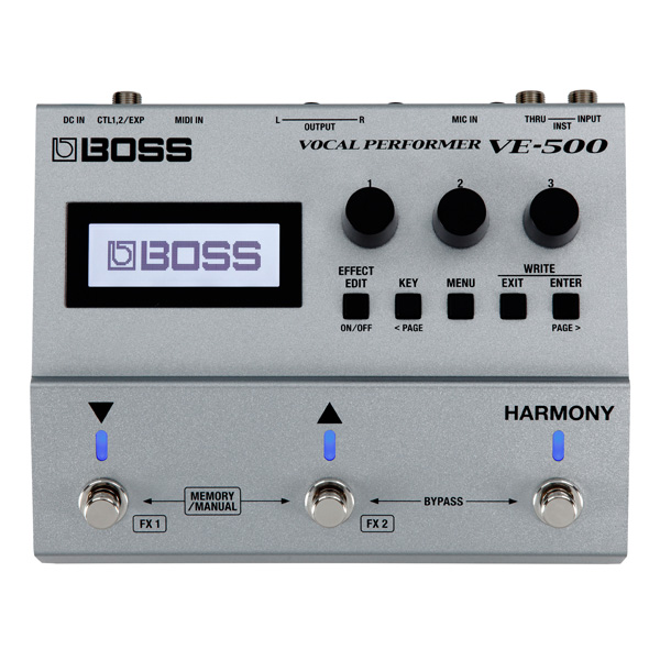 Boss(ボス) / Vocal Perfomer VE-500 - ヴォーカル・エフェクター - 【9月15日(土)発売】