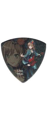 ESP(イーエスピー) /  ESP×バンドリ!Roselia Character Pick GBP Lisa 2 - ピック -