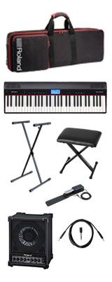 【CM-30セット】 Roland(ローランド) / GO:PIANO CM-30 - エントリーキーボード - 2大特典セット