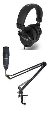 ■ご予約受付■ 【 MPH-1 ヘッドホンセット 】 Marantz(マランツ) / Pod Pack 1 - USBコンデンサーマイク&ブームアームスタンド - 【納期未定】