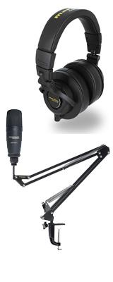 【 MPH-2 ヘッドホンセット 】 Marantz(マランツ) / Pod Pack 1 - USBコンデンサーマイク&ブームアームスタンド - 【納期未定】