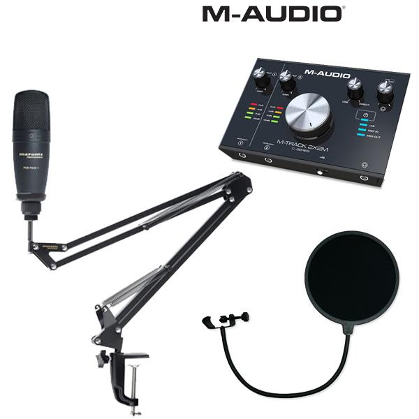 【 レコーディングセット 】 Marantz(マランツ) Pod Pack 1 / M-TRACK 2x2M セット