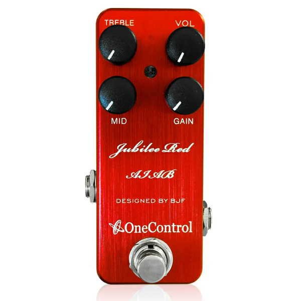 One Control(ワンコントロール) / Jubilee Red AIAB - アンプインアボックス - 《ギターエフェクター》
