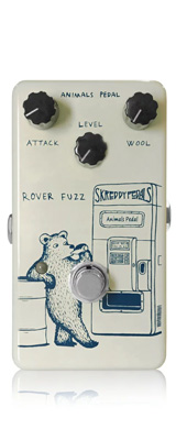 Animals Pedal / Rover Fuzz - ファズ - 《ギターエフェクター》 1大特典セット