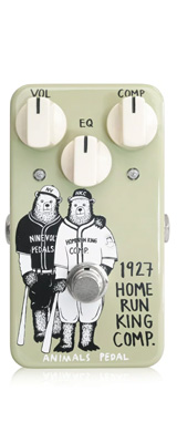 Animals Pedal / 1927 Home Run King Comp - コンプレッサー - 《ギターエフェクター》 1大特典セット
