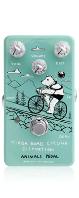 Animals Pedal / Tioga Road Cycling Distortion - ディストーション - 《ギターエフェクター》 1大特典セット