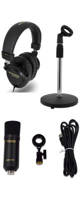 ■ご予約受付■ 【 MPH-1 ヘッドホンセット 】 Marantz(マランツ) / MPM-1000U - USBコンデンサーマイク - 1大特典セット