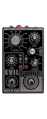 Death by Audio(デスバイオーディオ) / EVIL FILTER - マルチ・フィルター + ファズ - 《ギターエフェクター》 1大特典セット