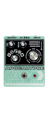 Death by Audio(デスバイオーディオ) / APOCALYPSE - 5タイプのワイルド・ファズ - 《ギターエフェクター》 1大特典セット