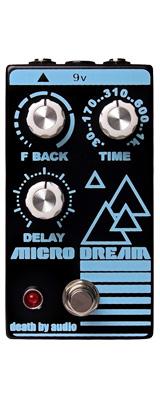 Death by Audio(デスバイオーディオ) / MICRO DREAM - ディレイ - 《ギターエフェクター》 1大特典セット