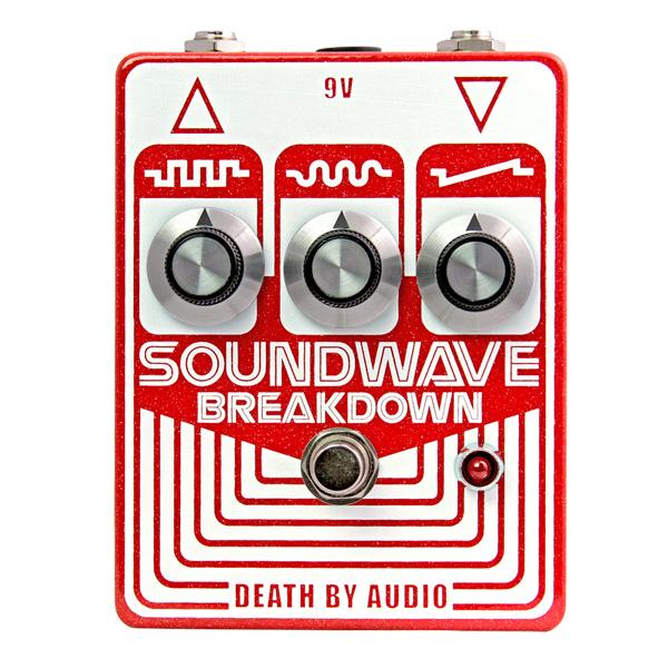 Death by Audio(デスバイオーディオ) / SOUNDWAVE BREAKDOWN - サイコなトランジスタ・ファズ - 《ギターエフェクター》 1大特典セット