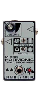 Death by Audio(デスバイオーディオ) / MICRO HARMONIC TRANSFORMER - クラシック・ファズの復刻版 - 《ギターエフェクター》 1大特典セット