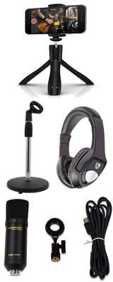 ■ご予約受付■ 【 iPhone配信セットA 】 Marantz(マランツ)  MPM-1000UJ / iKlip Grip (Bluetoothシャッター付属) セット 1大特典セット