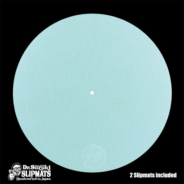 Dr. Suzuki Slipmats / Mix Edition (Light Blue) ライトブルー  [Slipmat] スリップマット【9月3日発売】