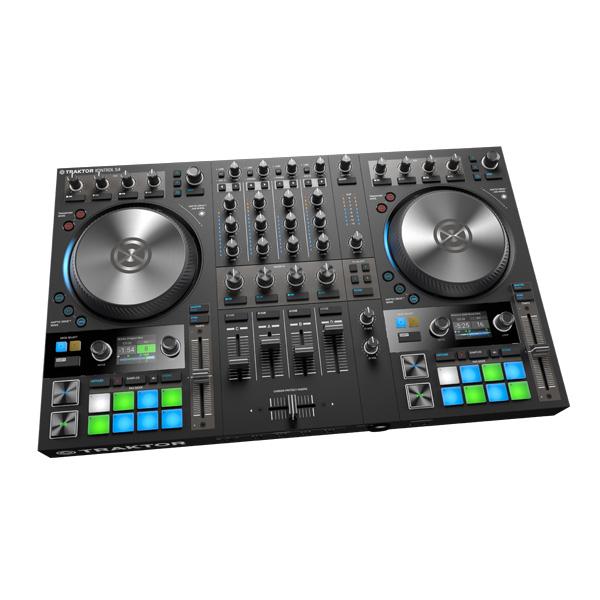 TRAKTOR KONTROL S4 MK3 / Native Instruments(ネイティブインストゥルメンツ) 【TRAKTOR PRO 3 付属】- PCDJコントローラー -