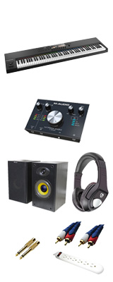 ■ご予約受付■ KOMPLETE KONTROL S88 MK2 / M-Track 2x2 M DTMスタートセット 4大特典セット