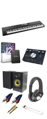 ■ご予約受付■ KOMPLETE KONTROL S88 MK2 / M-Track 2x2 M / KOMPLETE 12 ULTIMATE DTMスタートセット 4大特典セット