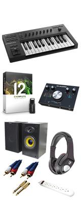 KOMPLETE KONTROL A25 / M-Track 2x2 M / KOMPLETE 12 SELECT DTMスタートセット 5大特典セット