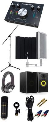 【 高品質ボーカルレコーディングセットA 】 Marantz(マランツ)  MPM-1000U / M-TRACK 2x2M / Sound Shield Live セット 1大特典セット