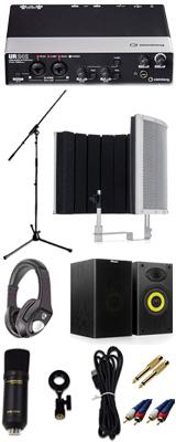 【 高品質ボーカルレコーディングセットB 】 Marantz(マランツ)  MPM-1000U / UR242 / Sound Shield Live セット 1大特典セット
